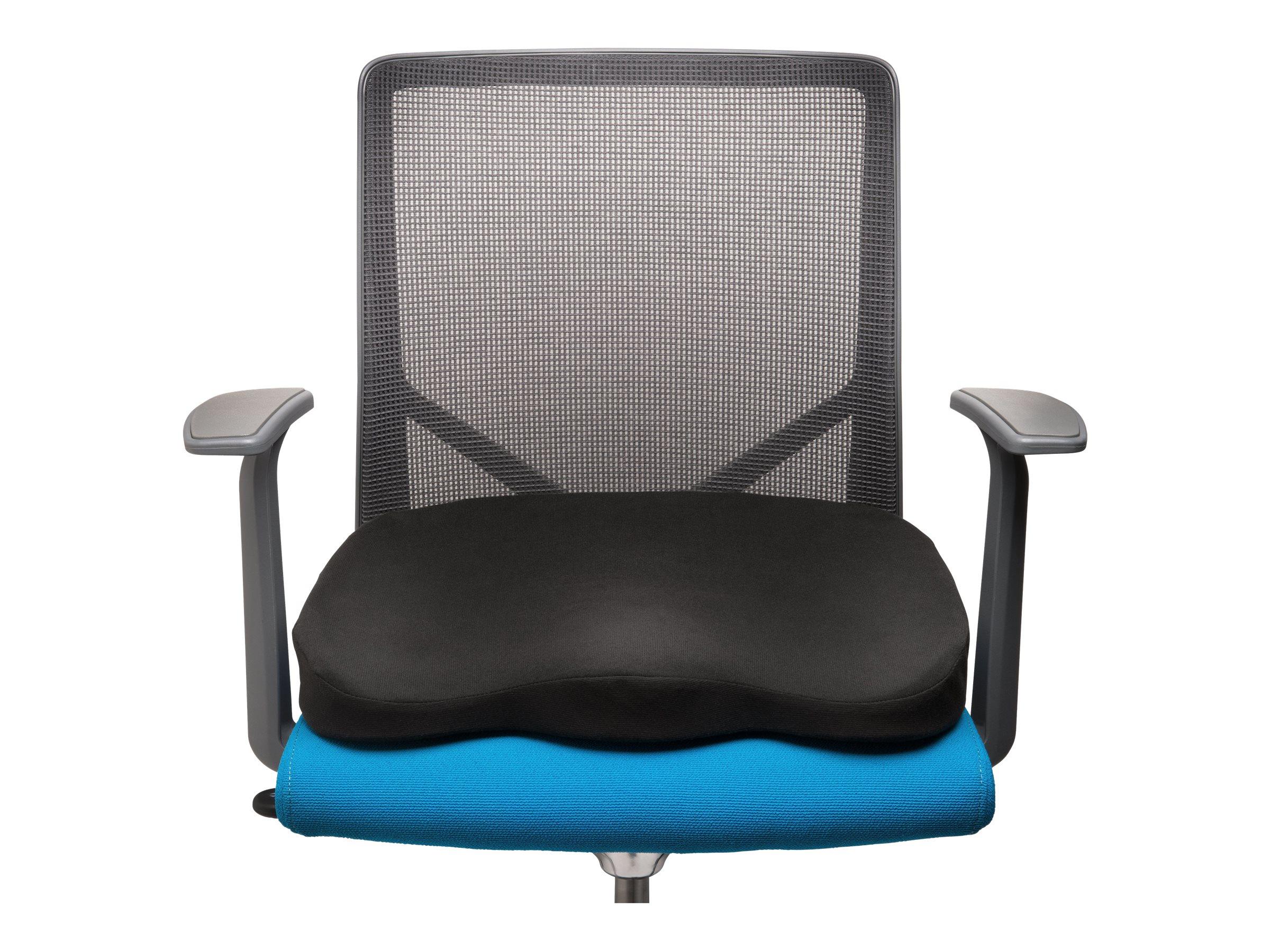 Kensington Ergonomic Memory Foam Seat Cushion - Sitzlehne - Schwarz