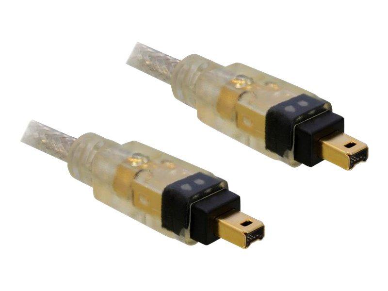 DeLOCK - IEEE 1394-Kabel - FireWire, 4-polig (M) bis FireWire, 4-polig (M) - 1 m