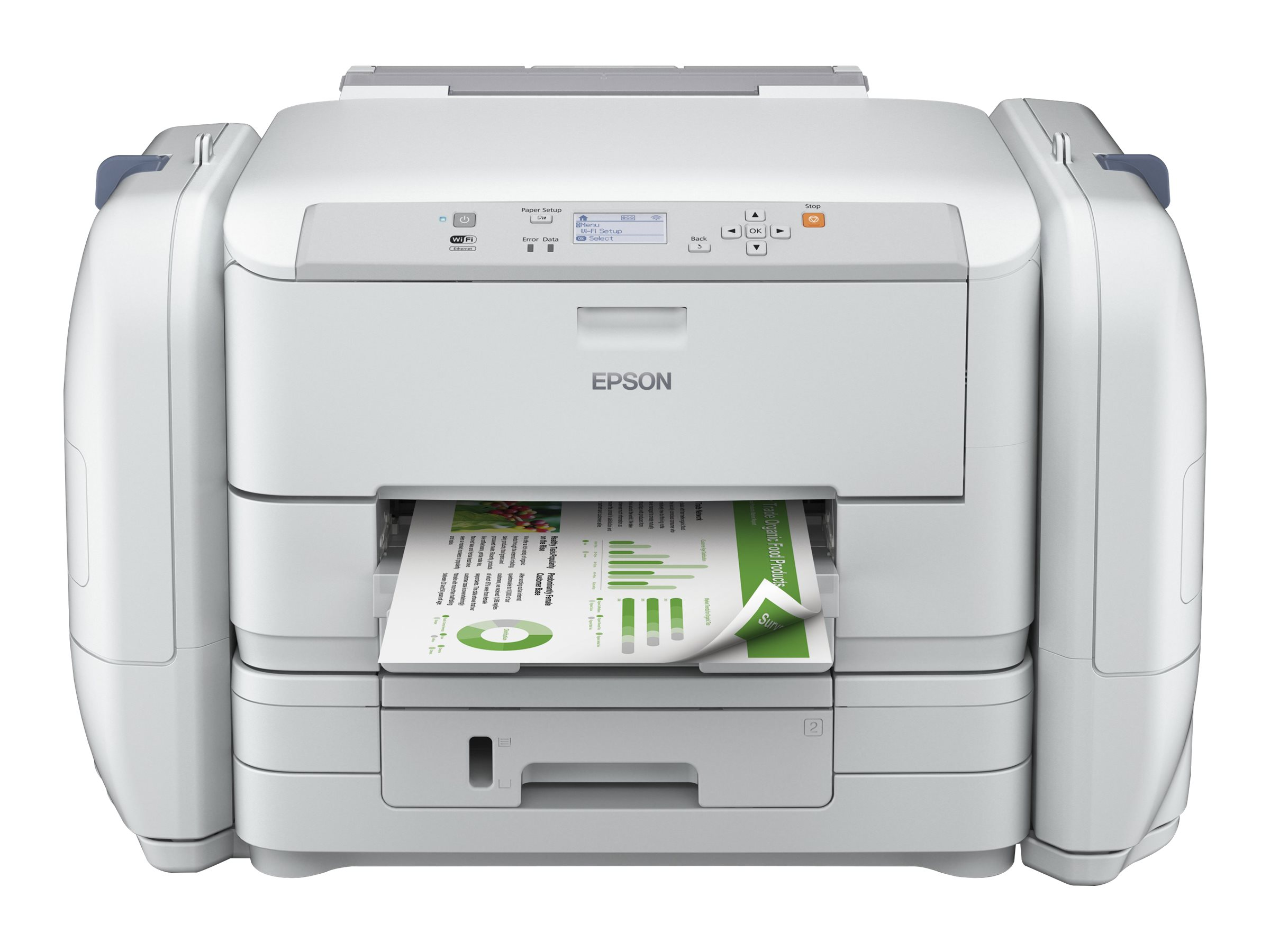 Epson WorkForce Pro WF-R5190 DTW BAM - Drucker - Farbe - Duplex - Tintenstrahl - A4/Legal