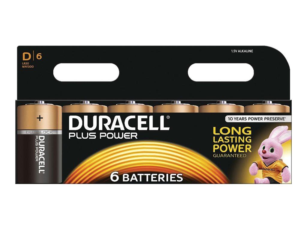 Duracell Plus Power MN1300 - Batterie 6 x D - Alkalisch