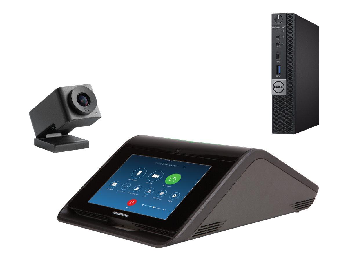 ZoomRooms Huddle Space Kit - Kit für Videokonferenzen - 7 Zoll - mit Dell OptiPlex 7050 (Microsoft Windows IoT managed ZoomRooms