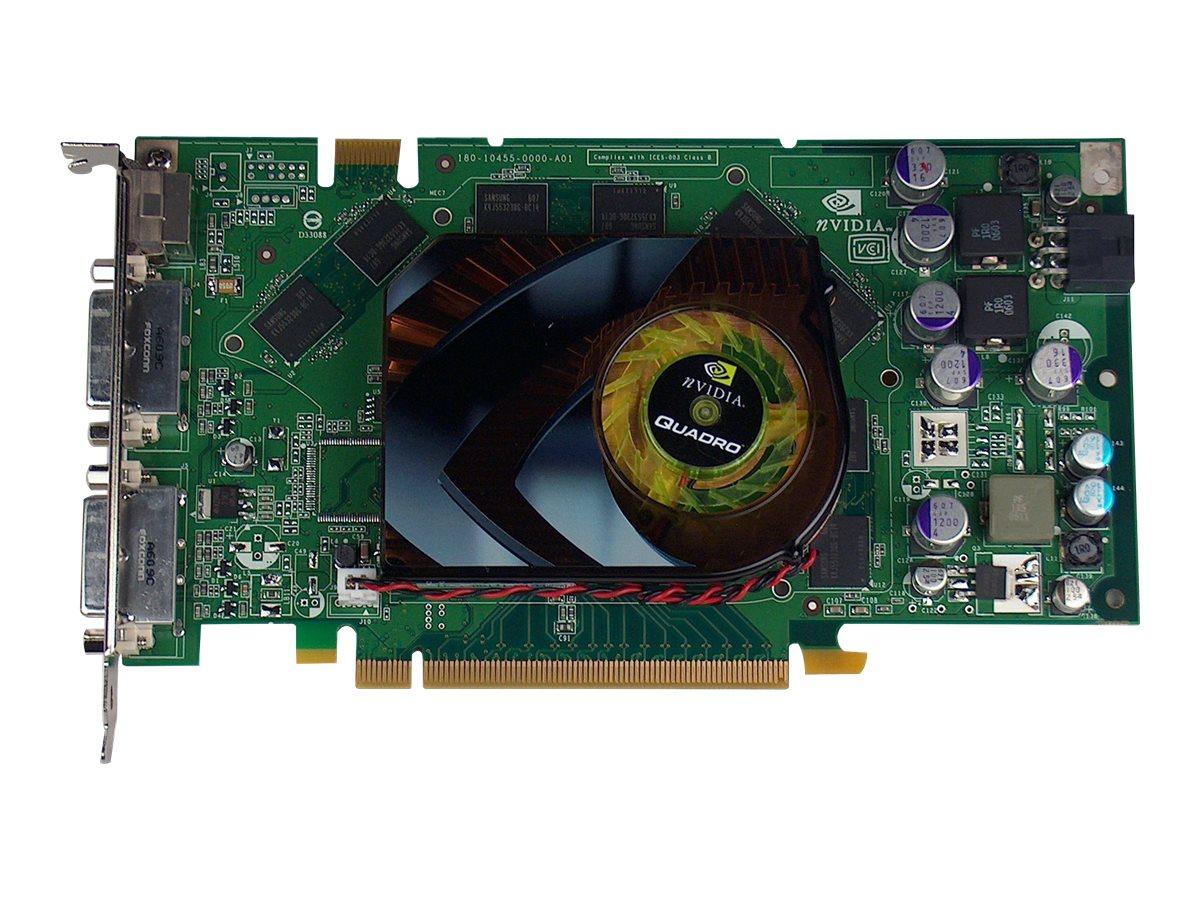 NVIDIA Quadro FX 3700 - Grafikkarten - Quadro FX 3700 - 512 MB GDDR3 - PCIe x16 - für ProLiant DL160 G5, DL160 G6, DL160se G6, D
