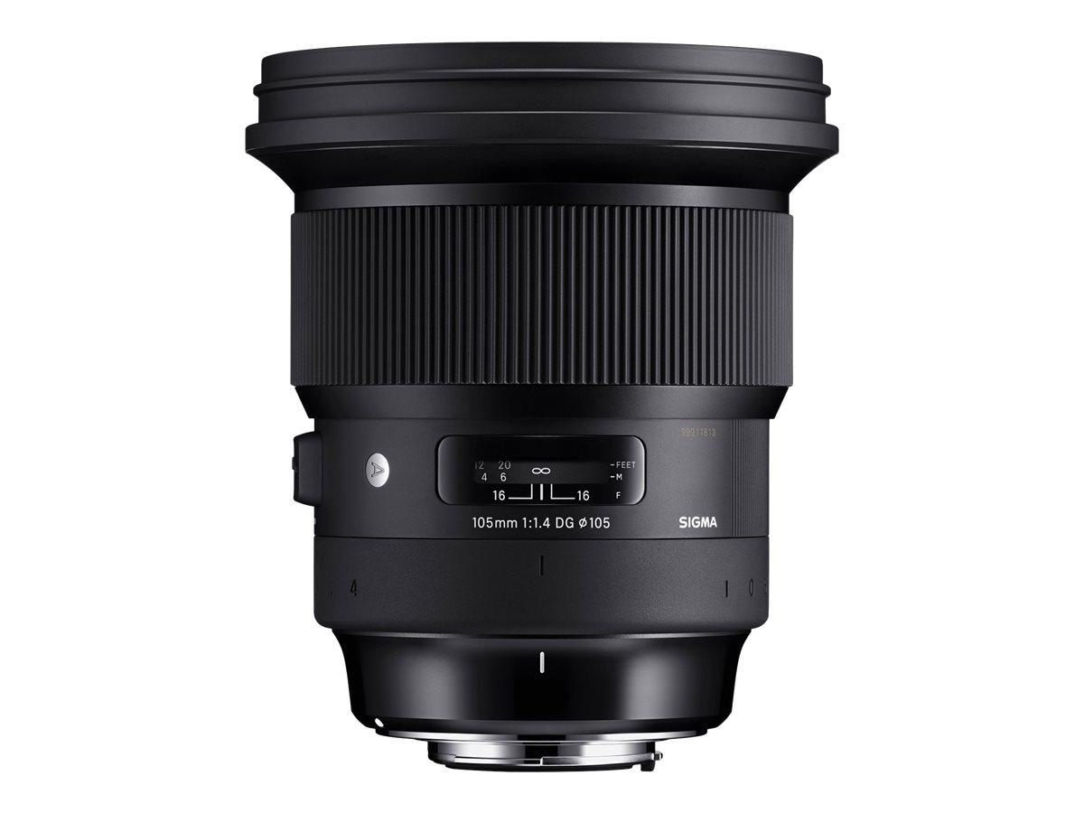 Sigma Art - Teleobjektiv - 105 mm - 105 mm - f/1.4 DG HSM - Sony E-mount