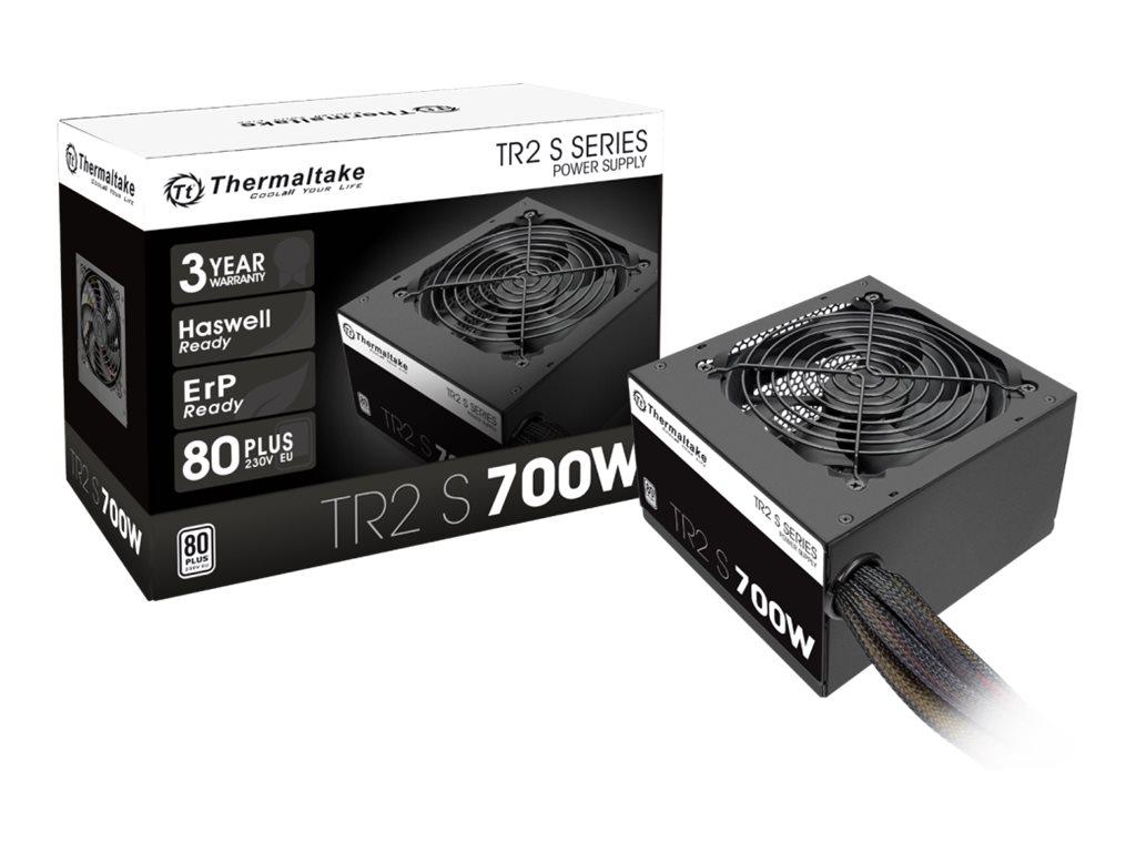 Thermaltake TR2 S 700W - Stromversorgung (intern) - ATX12V 2.3/ EPS12V - 80 PLUS - Wechselstrom 230 V - 700 Watt