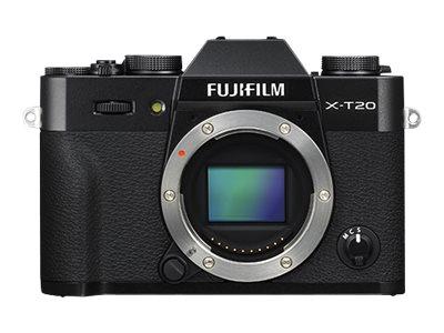 Fujifilm X Series X-T20 - Digitalkamera - spiegellos - 24.3 MPix - APS-C - 4K / 30 BpS