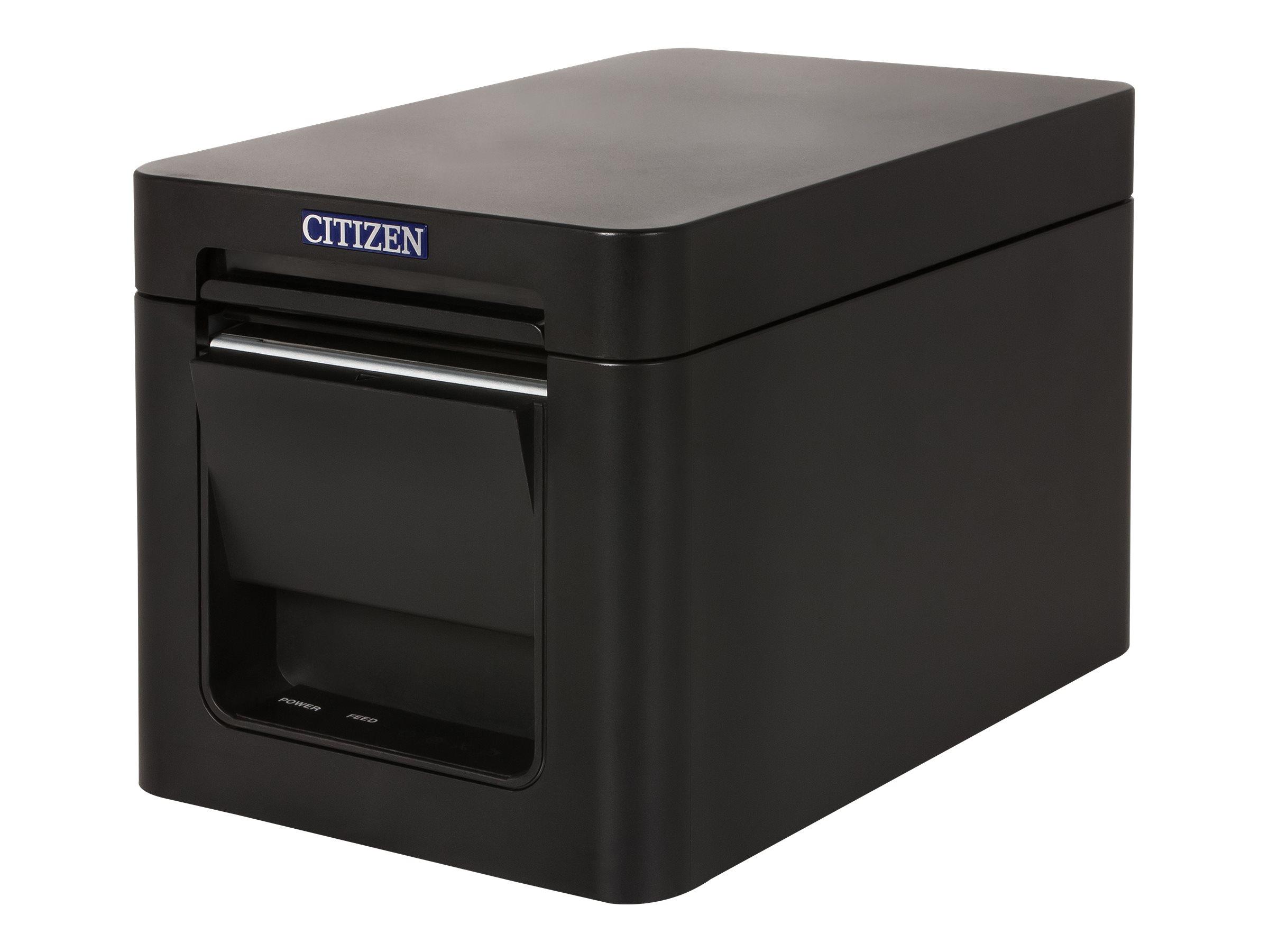 Citizen CT-S251 - Belegdrucker - zweifarbig (monochrom) - Thermozeile - Rolle (5,8 cm) - 203 dpi