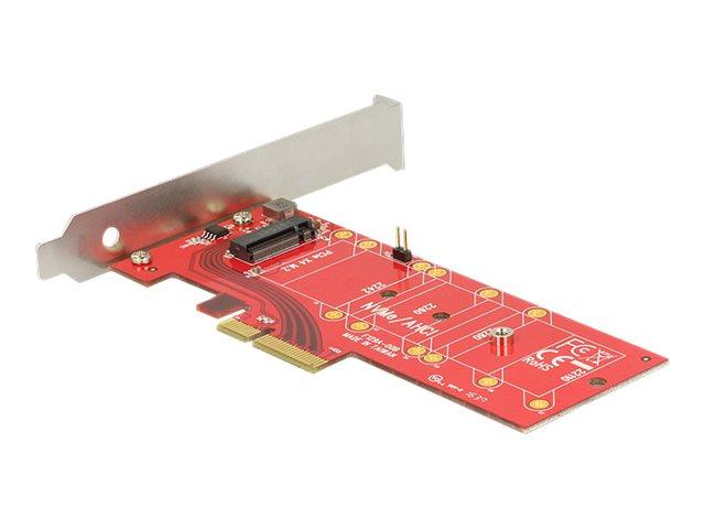DeLOCK PCI Express x4 Card > 1 x internal NVMe M.2 Key M 110 mm with heat sink - Speicher-Controller - 1 Sender/Kanal - M.2 Card