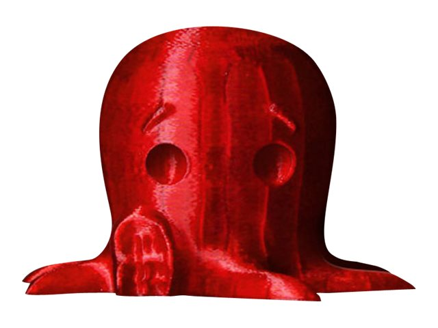 MakerBot - 1 - Translucent Red - 0.9 kg - PLA-Filament (3D) - für Replicator 2X, Fifth Generation, Z18