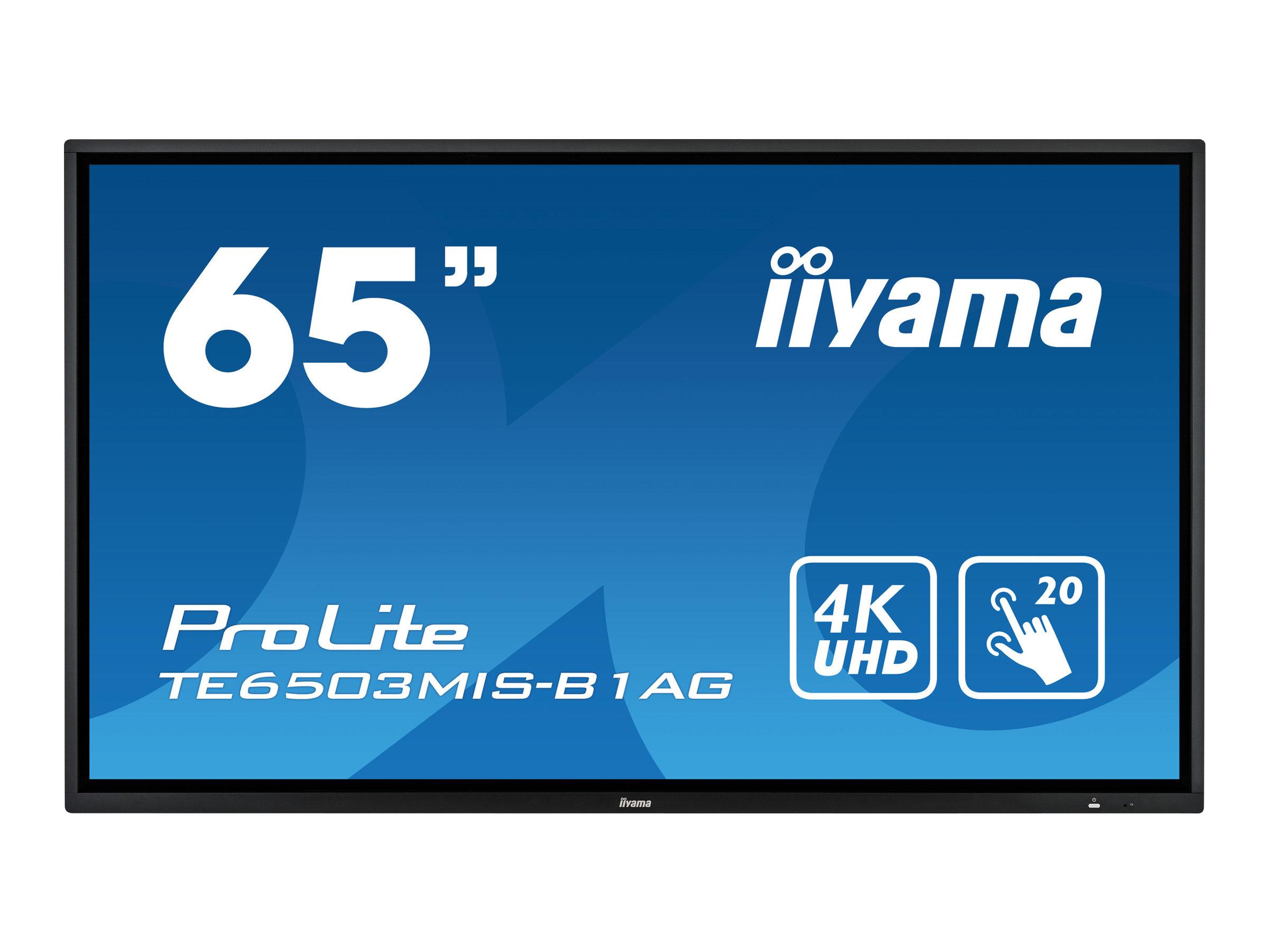 iiyama ProLite TE6503MIS-B1AG - 165.1 cm (65