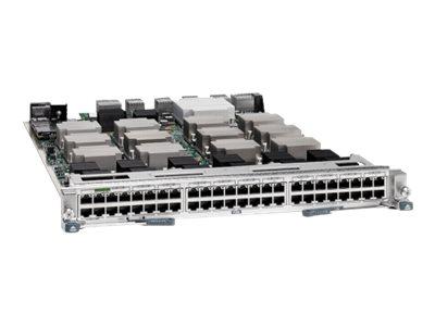 Cisco Nexus 7000 Enhanced F2-Series 48-Port 1 and 10GBASE-T Ethernet Copper Module - Switch - L3 - 48 x 1000/10000 - Plugin-Modu