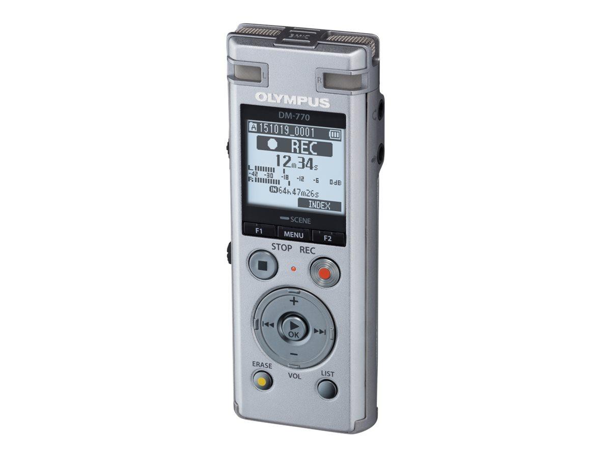 Olympus DM-770 - Voicerecorder - 8 GB