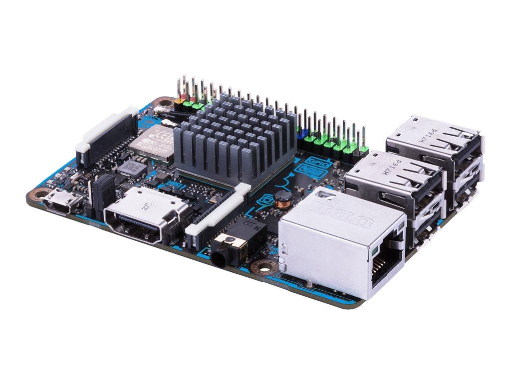 ASUS Tinker Board S - Einplatinenrechner - Rockchip RK3288 1.8 GHz - RAM 2 GB - Flash 16 GB - 802.11b/g/n, Bluetooth 4.0