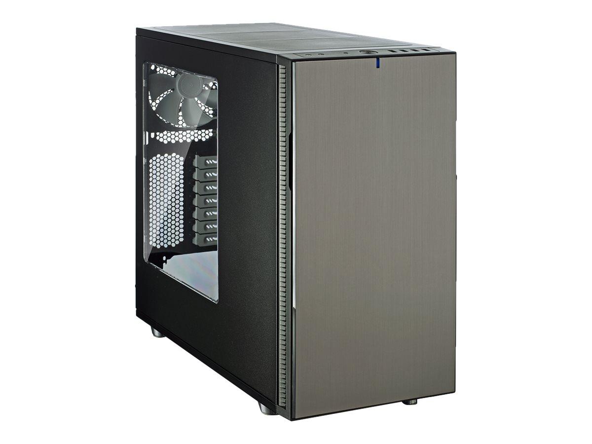 Fractal Design Define R5 - Tower - ATX - Titanium Window - USB/Audio