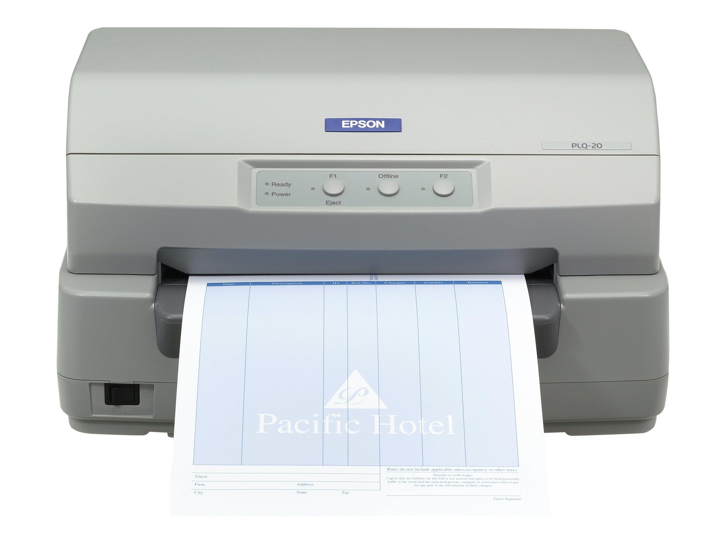 Epson PLQ 20 - Sparbuchdrucker - monochrom - Punktmatrix - 245 x 297 mm - 24 Pin