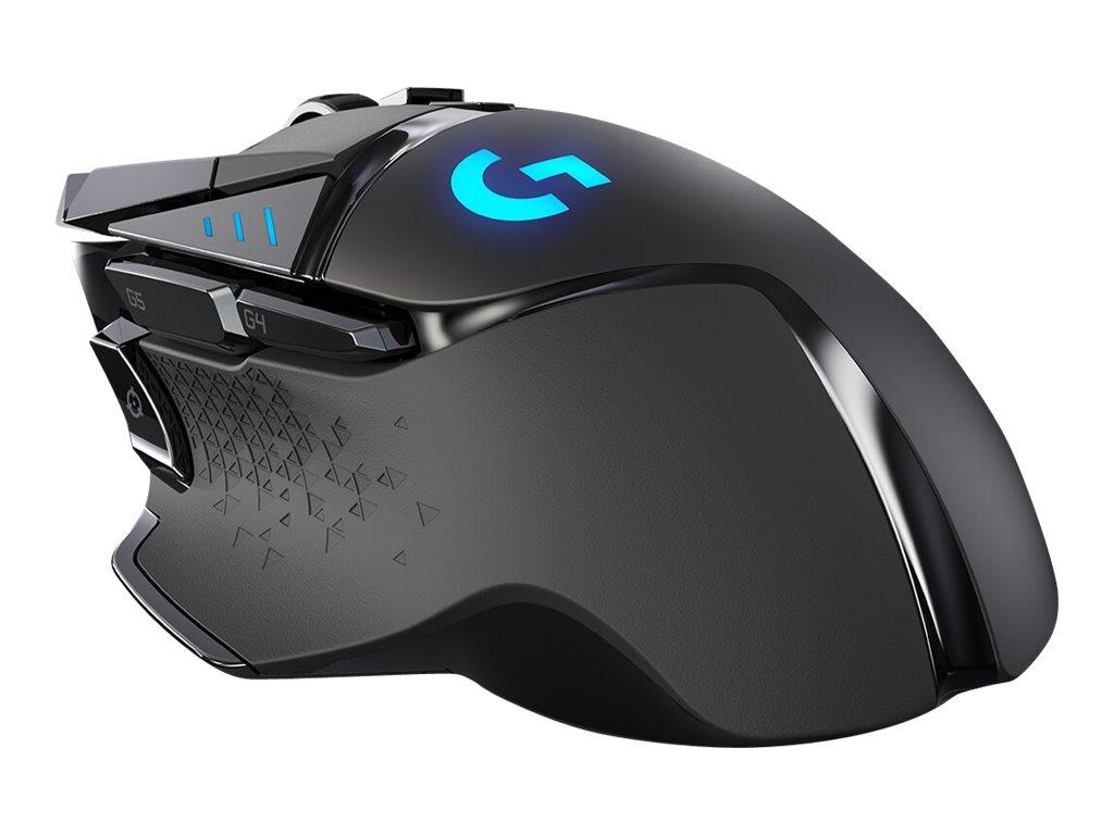 Logitech Gaming Mouse G502 LIGHTSPEED - Maus - optisch - 11 Tasten - kabellos, kabelgebunden - LIGHTSPEED