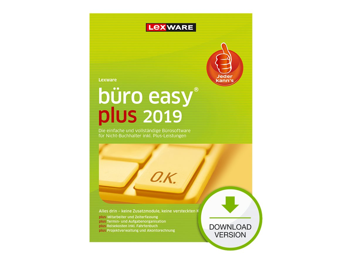 Lexware büro easy plus 2019 - Abonnement-Lizenz (1 Jahr) - 1 Benutzer - Download - ESD - Deutsch