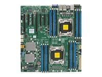 SUPERMICRO X10DRH-iLN4 - Motherboard - Erweitertes ATX - LGA2011-v3-Sockel - 2 Unterstützte CPUs - C612