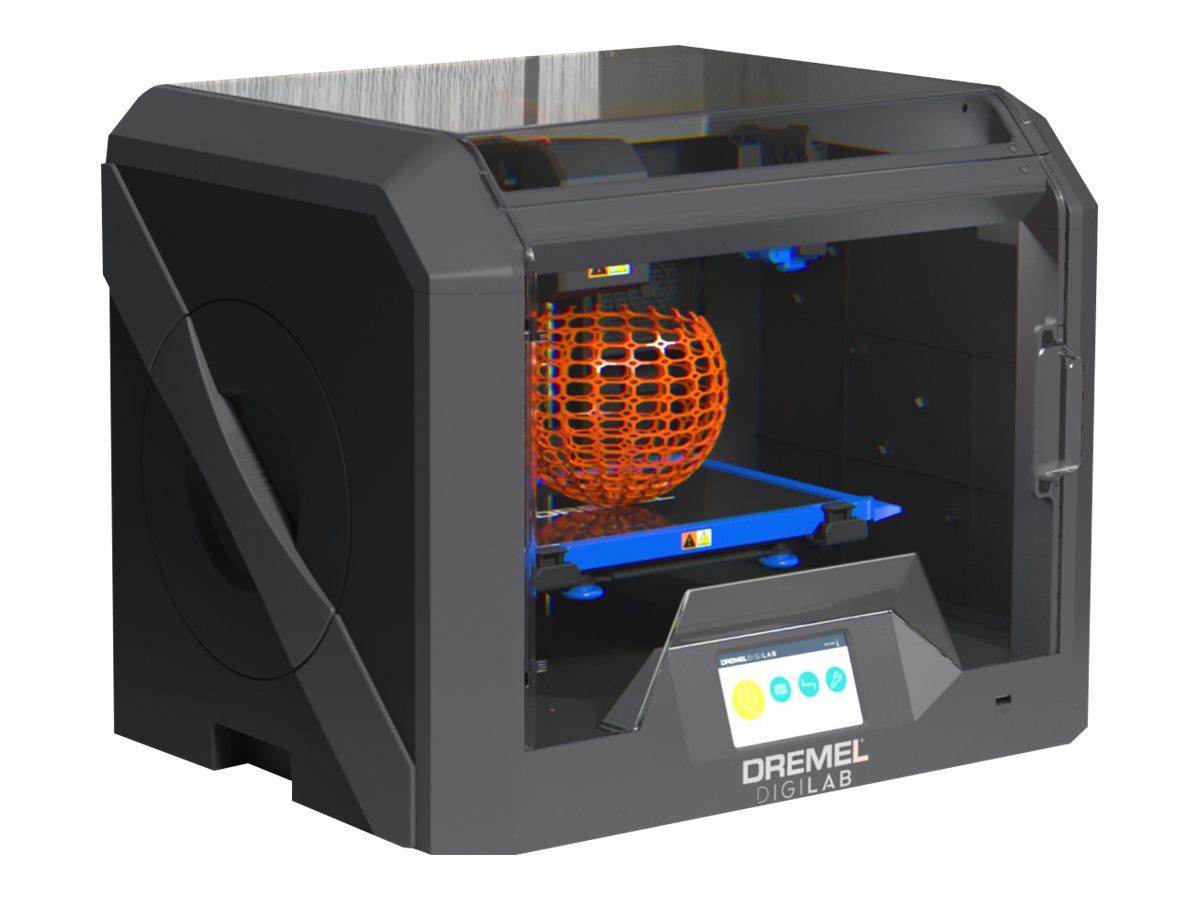 Dremel DigiLab 3D45 - 3D-Drucker - FDM - max. Baugrösse 254 x 152 x 170 mm - Schicht: 50 µm - USB, LAN, Wi-Fi