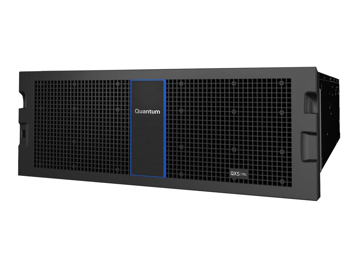 Quantum QXS-456ES Storage, Expansion Chassis - Festplatten-Array - 56 Schächte - SAS 12Gb/s (extern) - Rack - einbaufähig