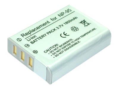 DÖRR - Batterie - Li-Ion - 1800 mAh - 6.7 Wh - für Fujifilm FinePix F30, F31fd, REAL 3D W1, X100; X Series X100S, X100T, X70, XF
