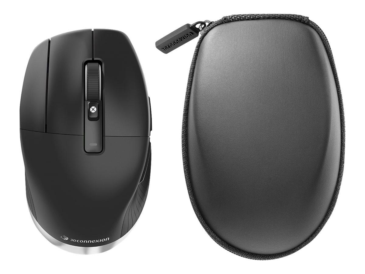 3Dconnexion CadMouse Pro Wireless - Maus - ergonomisch - Für Linkshänder - 7 Tasten - kabellos