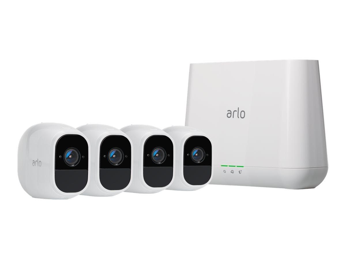 Arlo Pro 2 VMS4430P - Videoserver + Kamera(s) - drahtlos - 802.11n - 4 Kamera(s) - CMOS