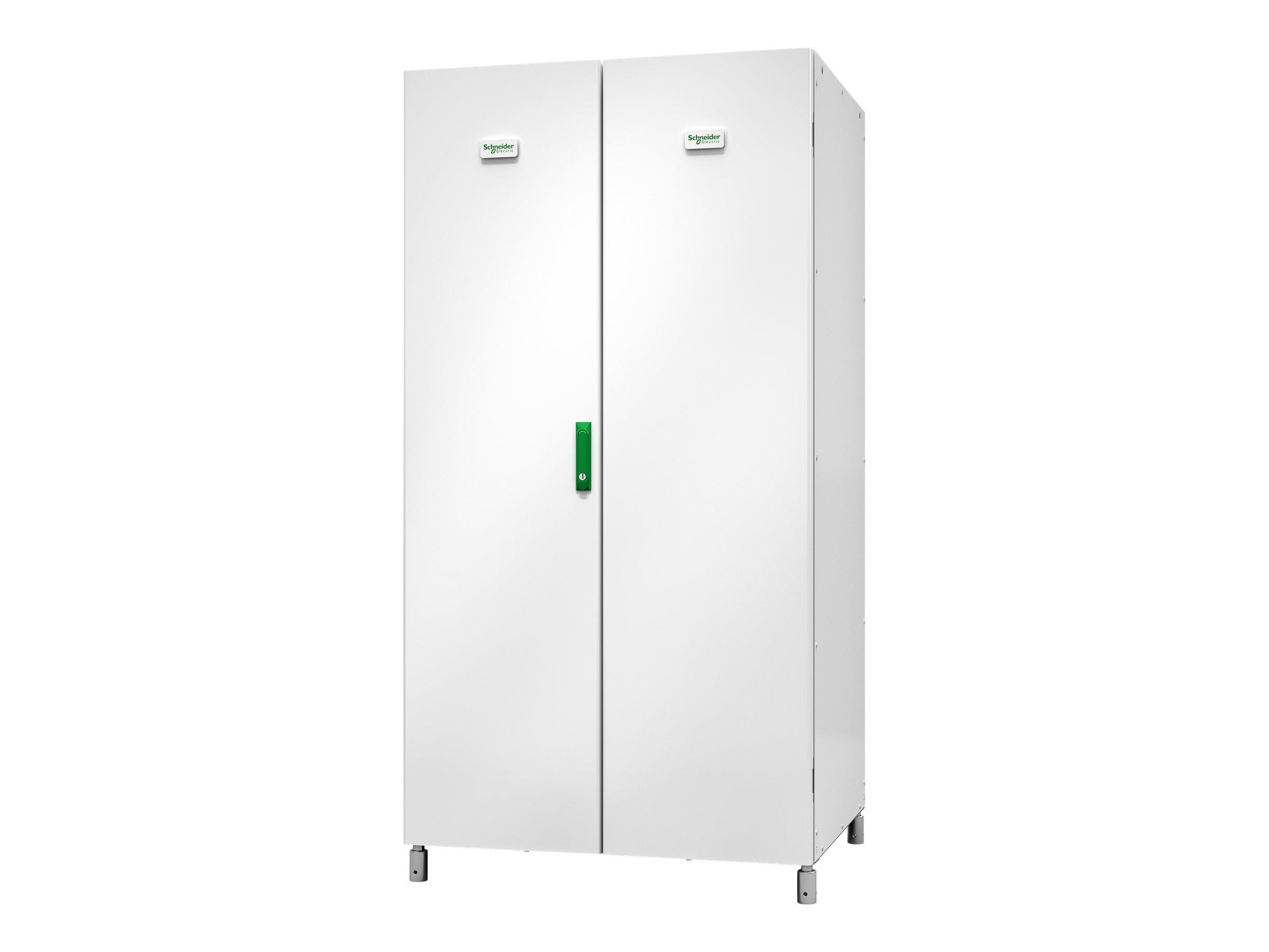 Schneider Electric Galaxy VS Classic Battery Cabinet - Config B - Batteriegehäuse - weiss