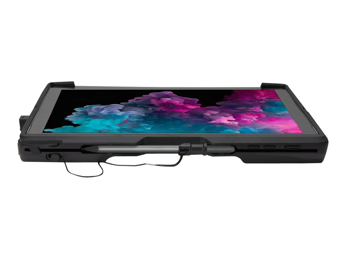 Kensington BlackBelt Rugged Case with Integrated CAC Reader - Schutzhülle für Tablet - widerstandsfähig - Silikon, Thermoplastis