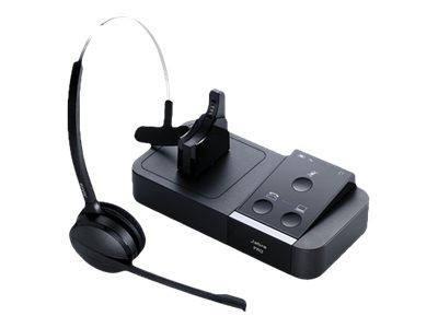 Jabra PRO 9450 - Headset - konvertierbar - DECT - kabellos - aktive Rauschunterdrückung
