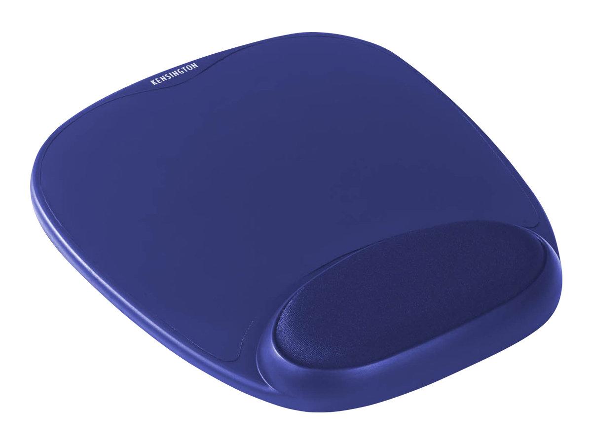 Kensington Gel Mouse Rest - Mauspad mit Handgelenkpolsterkissen - Blau
