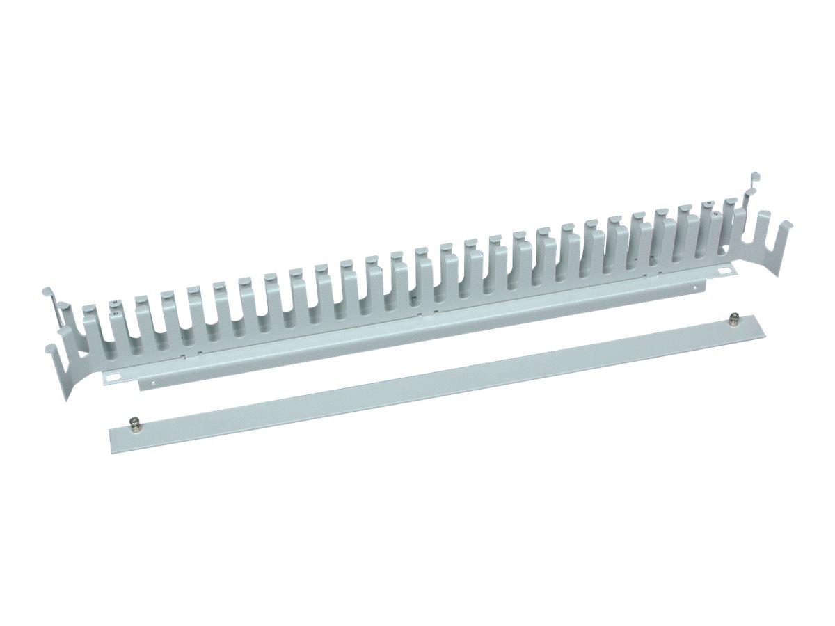 Knürr - Kabelführungsplatte für Schaltschrank - RAL 7035 - 48.3 cm (19