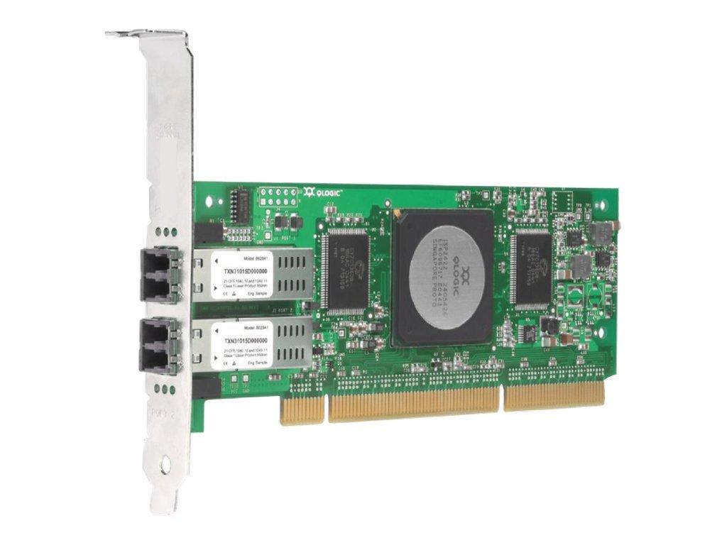 QLogic SANblade QLA2462 - Hostbus-Adapter - PCI-X Low-Profile - Fibre Channel x 2