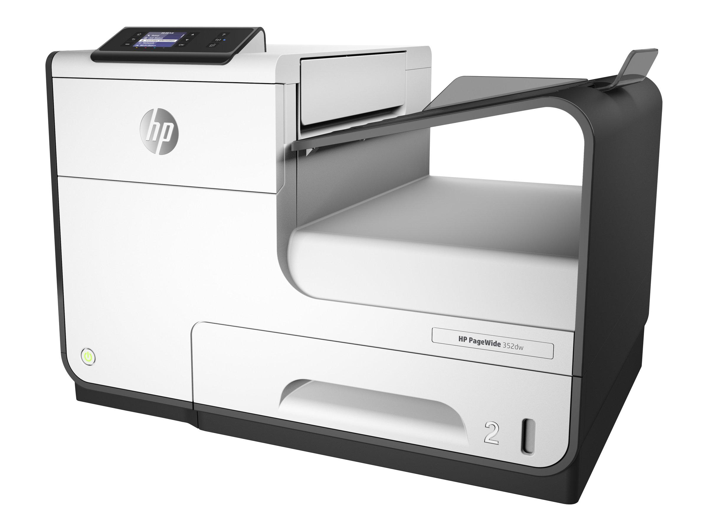 HP PageWide 352dw - Drucker - Farbe - Duplex - seitenbreite Palette - A4/Legal