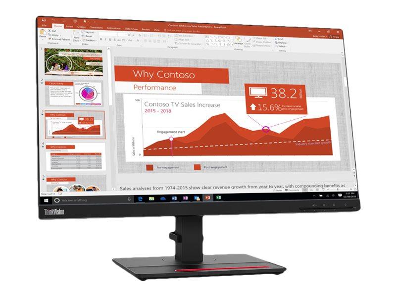 Lenovo ThinkVision T24i-20 - LED-Monitor - 60.5 cm (23.8