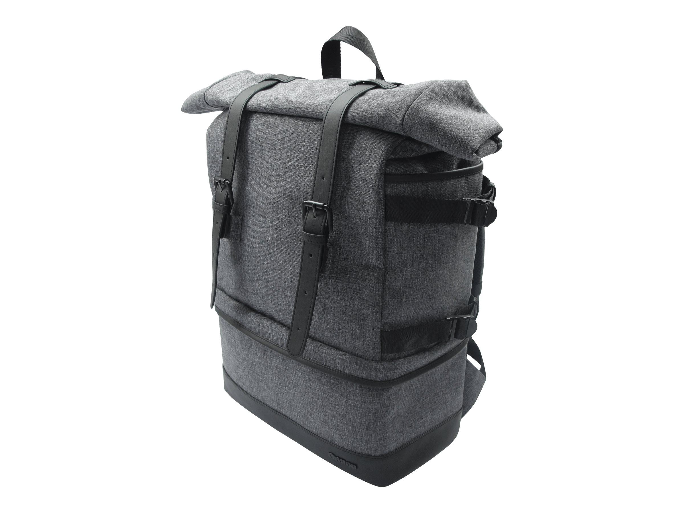 Canon BP10 - Rucksack für Kameraset und persönliche Gegenstände - Polyester, Polyurethan - Grau - für EOS 2000D, 4000D, Kiss X90