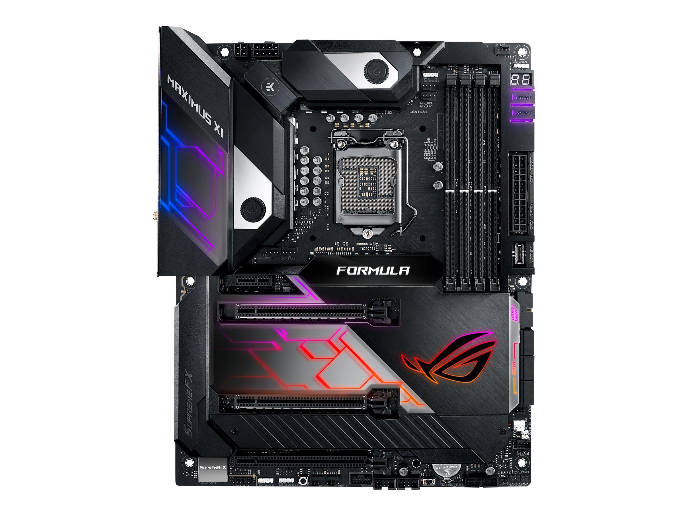 ASUS ROG MAXIMUS XI FORMULA - Motherboard - ATX - LGA1151 Socket - Z390 - USB 3.1 Gen 1, USB-C Gen2, USB 3.1 Gen 2