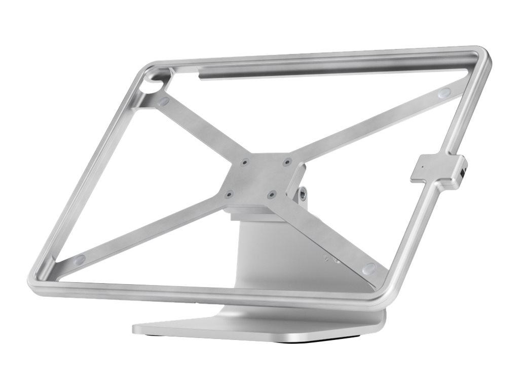 xMount@Table top - Aufstellung für Tablett - verriegelbar - Aluminium - weiss - Schreibtisch