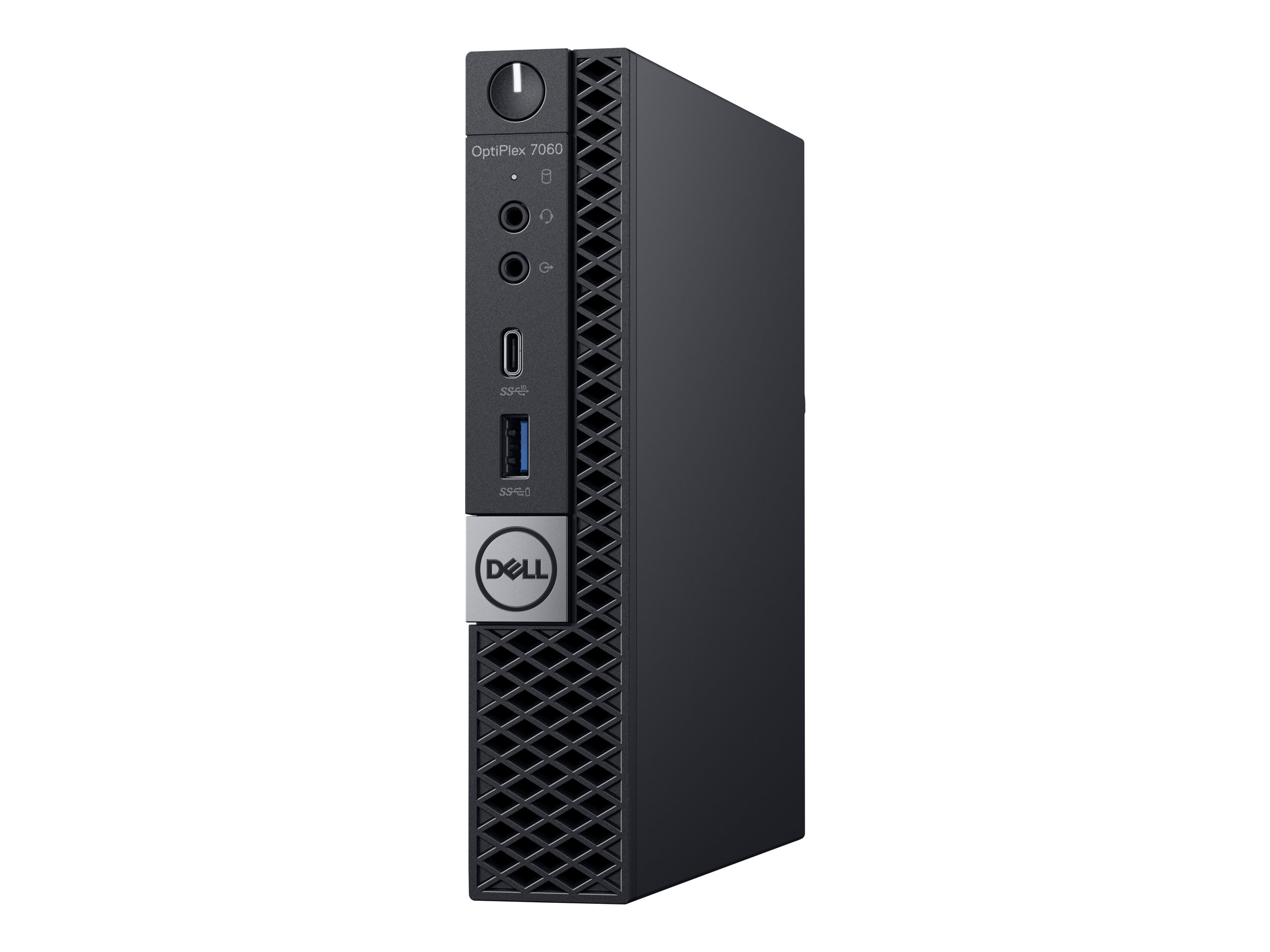 Dell OptiPlex 7060 - Micro - 1 x Core i7 8700T / 2.4 GHz - RAM 8 GB - SSD 256 GB - UHD Graphics 630