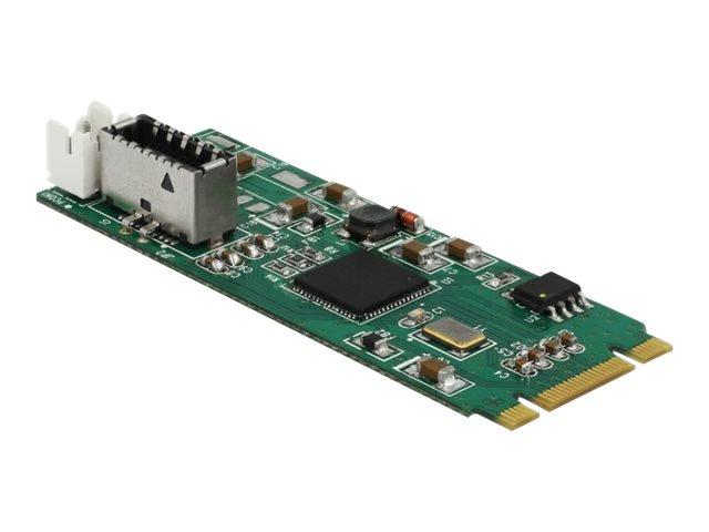 DeLOCK Converter M.2 Key B+M male to 1 x internal USB 3.1 Gen 2 key A 20 pin female - USB-Adapter - PCIe Mini Card (M.2) - USB 3