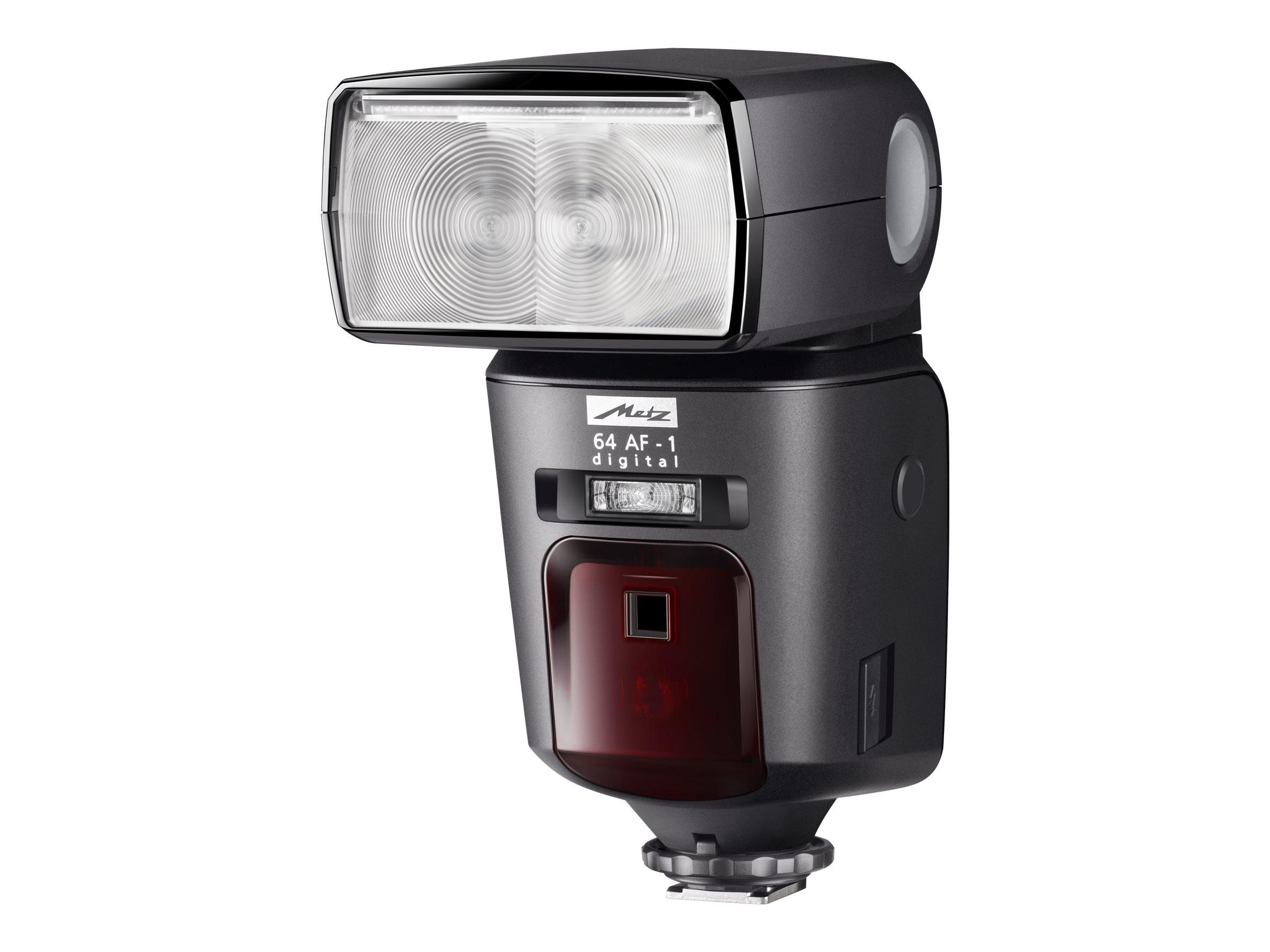 Metz Mecablitz 64 AF-1 digital - Blitzgerät - 64 (m) - für Canon EOS 100, 1200, 1D, 5D, 650, 6D, 70, 700, 7D, M; PowerShot G1, G