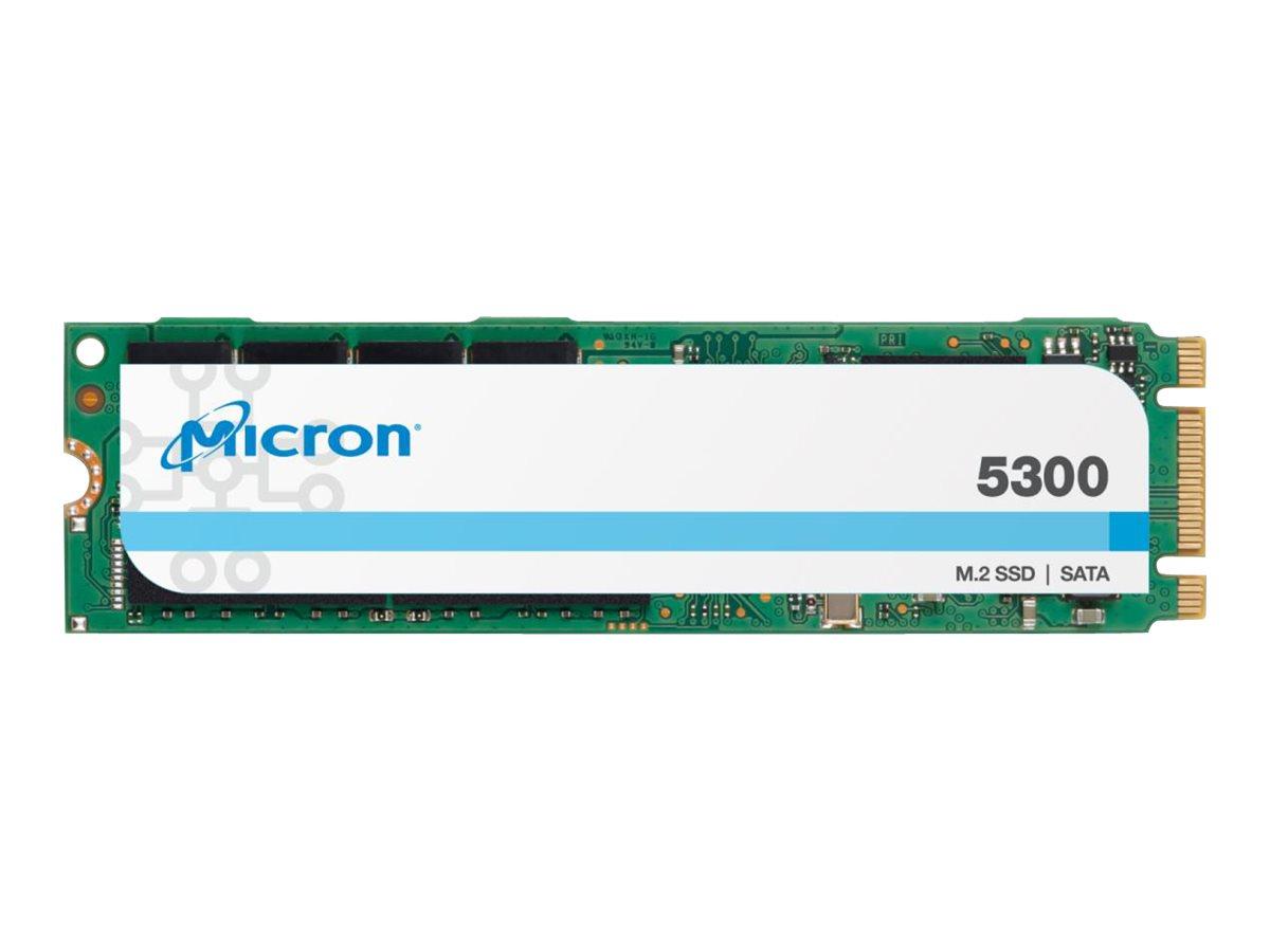 Micron 5300 PRO - Solid-State-Disk - 480 GB - intern - M.2 2280 - SATA 6Gb/s