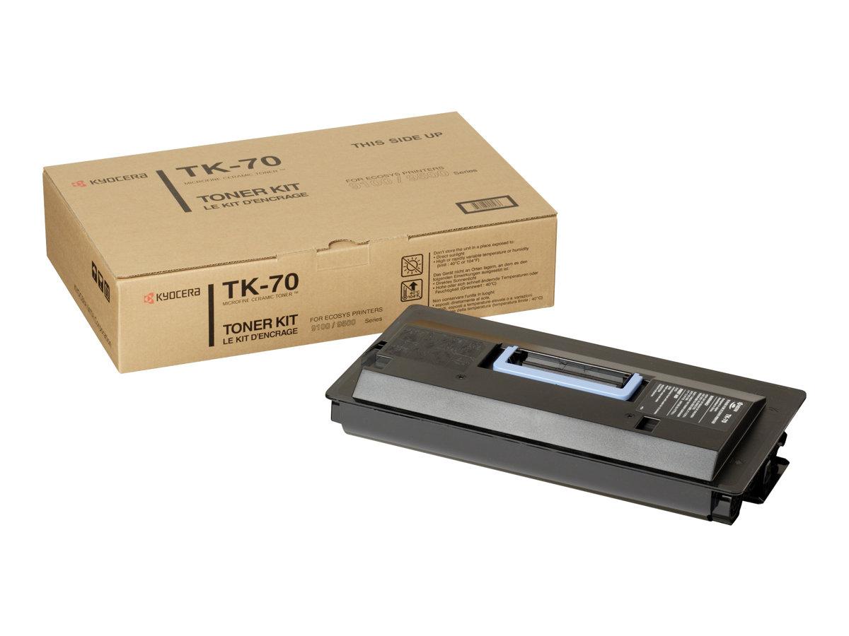 Kyocera TK 70 - Schwarz - Tonersatz - für FS-9100, 9120, 9500, 9520