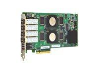 QLogic SANblade QLE2464 - Hostbus-Adapter - PCIe x8 - 4Gb Fibre Channel x 4