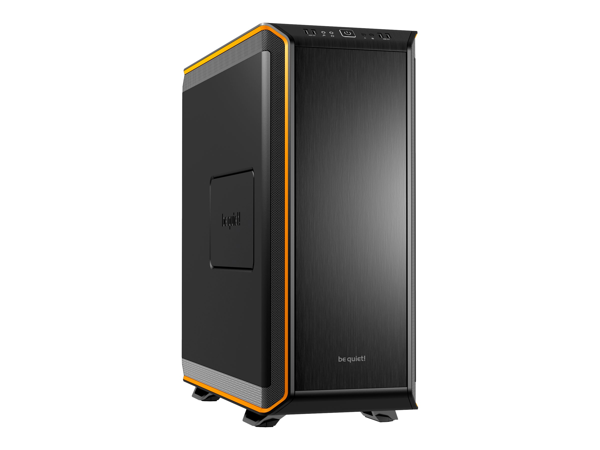 be quiet! Dark Base 900 - Tower - Erweitertes ATX - ohne Netzteil - orange - USB/Audio