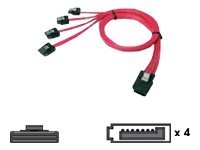 Chenbro - SATA- / SAS-Kabel - 4-Lane - SATA bis 36 PIN 4iMini MultiLane - 60 cm - für Chenbro RM21508, RM23212, SR10566, SR10567