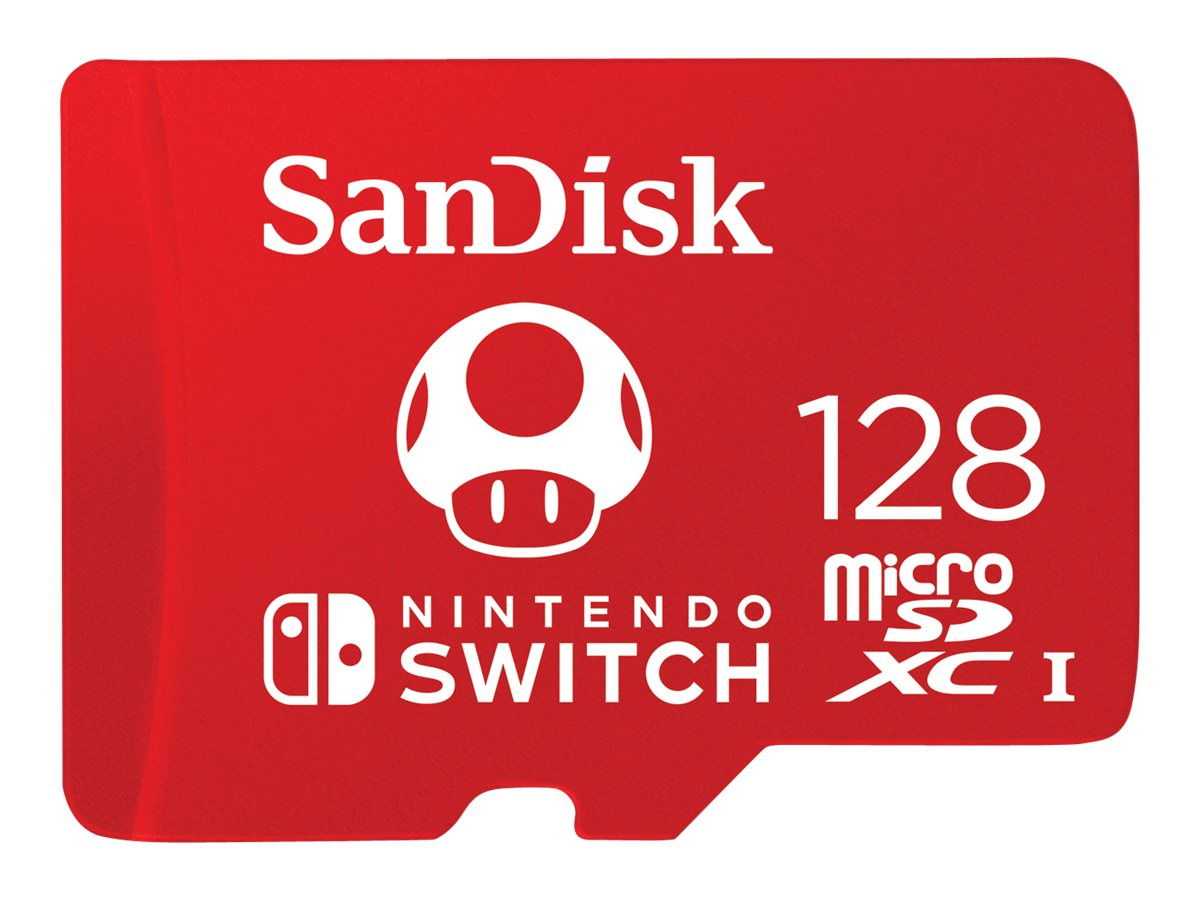 SanDisk - Flash-Speicherkarte - 128 GB - UHS-I U3 - microSDXC UHS-I - für Nintendo Switch