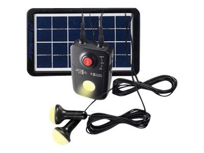 BlueWalker Solar PowerBank - Solar-Powerbank - 4400 mAh - 5 Watt - 1 A (USB)