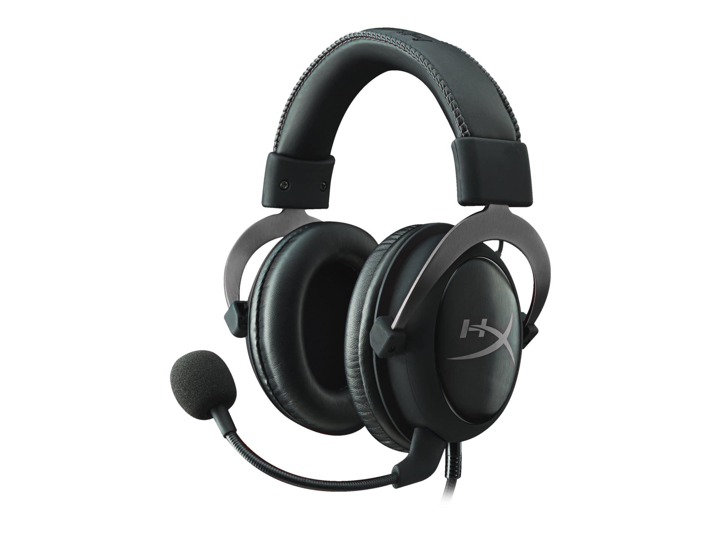 HyperX Cloud II - Headset - ohrumschliessend - kabelgebunden - Gun Metal