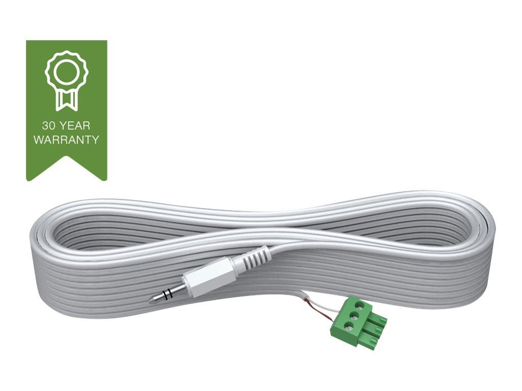 VISION Techconnect 2 - Audiokabel - Phoenix, 3-polig (M) bis Stereo Mini-Klinkenstecker (M) - 15 m