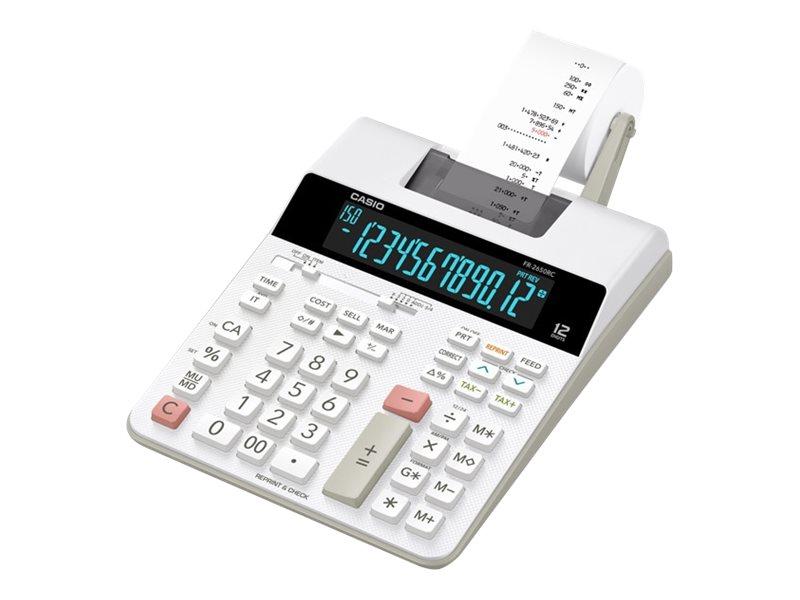 Casio FR-2650RC - Druckrechner - LCD - 12 Stellen - Wechselstromadapter